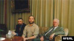 С.Навумчык, У.Яндзюк, В.Быкаў, 12.09.2001