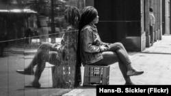 Проститутка и сутенер. Кейптаун, 2016 год