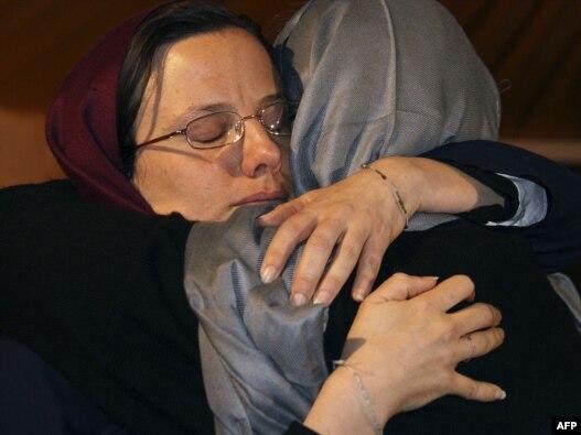 سارا شورد در جریان دیدار چند ماه پیش مادرش در تهران