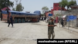The Torkham crossing point is still closed for Afghan citizens, June 2.