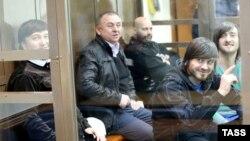 Осужденные по делу об убийстве Политковской.