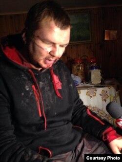 Дмитро Булатов, 30 січня 2014 року (фото з Facebook Ольга Кошеленко)