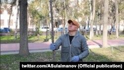 Фото взято с твиттер-страницы лидера фракции «Бир Бол» Алтынбека Сулайманова.