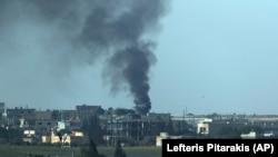 بمباران تل ابیض در سوریه