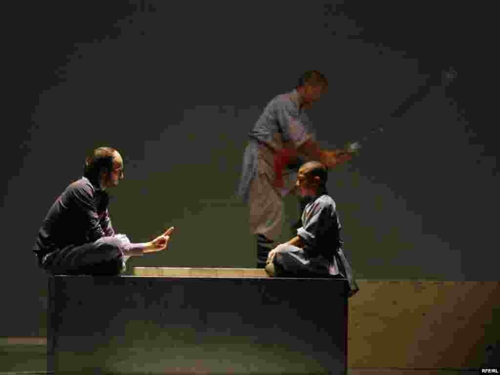 "Sadlers Wells Theater, London - Predstavom ""Sutra"" u režiji i koreografiji Sidi Larbi Cherkaonia, otvoren je 43. Beogradski internacionalni teatarski festival (BITEF)"