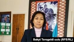 Чолпон Өмүрканова.