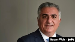 Reza Pahlavi, the exiled son of Iran's last shah. (file photo)