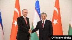 Erdogan və Mirziyoev