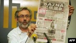 1999 жылы сербиялық журналист Славко Чурувияны (суретте) өлтіргендер сол күйі табылмады.