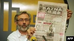 Slavko Ćuruvija je ubijen 11. aprila 1999. u Svetogorskoj ulici Beogradu