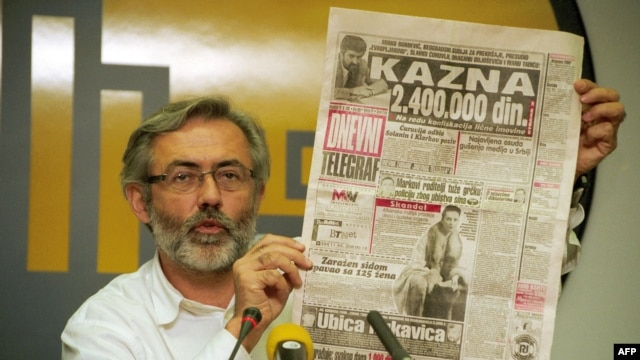 The killers of Serbian journalist Slavko Curuvija, who was slain in 1999, have never been brought to justice.