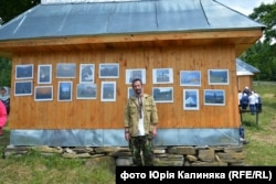 Юрій Калиняк презентував фотовиставку у Випчині