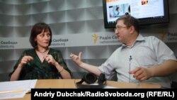 Тетяна Ярмощук і Сергій Дяченко