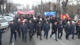 GRAB - Several thousand people took to the streets of Osh, in southern Kyrgyzstan, to protest against terrorism.