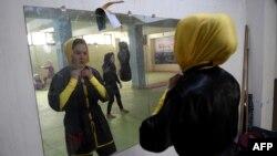 آرشیف، ورزشکاران وشو در کابل