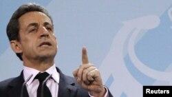 Франция президенті Николя Саркози.