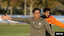 افشین قطبی، مربی تیم ملی فوتبال ایران