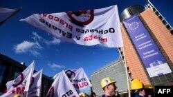 Protesti u Belgiji prošle godine zbog uvoza jeftinog kineskog čelika