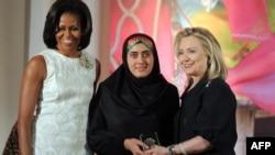 Мишель Обама, Мариам Дюрани и Хиллари Клинтон