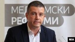 Министерот за информатичко општество и администрација, Дамјан Манчевски.