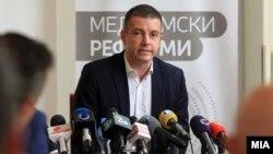 Mинистерот за информатичко општество и администрација Дамјан Манчевски
