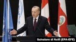 Erdoan na Globalnom izbegličkom forumu, Ženeva