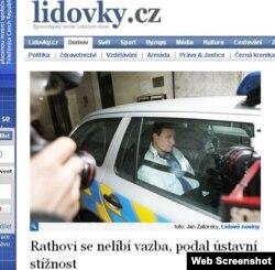 Чех парламентинин мүчөсү жана облустун гетманы Давид Рат пара алган деп шектелип камакка алынгандан кийин. 15-май 2012