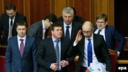 У грудні 2014 року парламент підтримав програму дій Кабінету міністрів