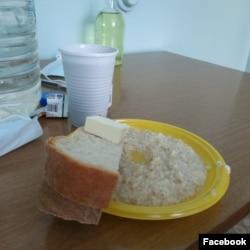 Завтрак Анастасии Петровой