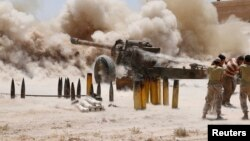 Զինյալ ապստամբներ Սիրիայում, հուլիս, 2014թ.