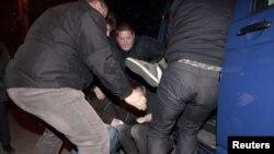 Задержание оппозиционеров в Минске - при попытке провести 26 октября несанкцинированную акцию