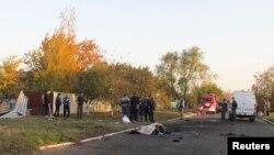Загиблі внаслідок обстрілу Сартани, 14 жовтня 2014 року