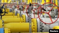 Газотранспортна система Gaz-System у Густоржині, Польща