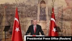 Türkiyə prezidenti Racep Tayyip Erdogan