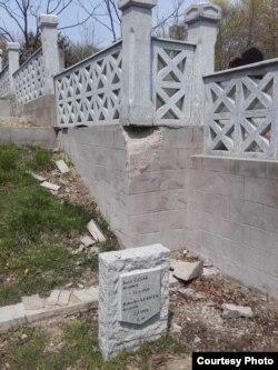 Состояние кладбища после двух реконструкций (2017 год)
