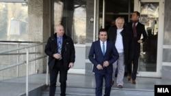 """Судење за """"Поткуп"""" во кое осомничен е премиерот Зоран Заев."""