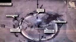 رئیسجمهوری آمریکا هشتم شهریور ۹۸ با انتشار این عکس اعلام کرد کشورش دخالتی در حادثه سکوی پرتاب موشک ایران نداشت.