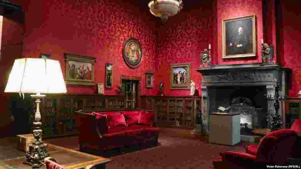 Interior, Muzeul Morgan, clădire de secol XIX.