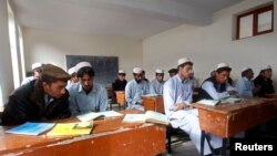 A school in the eastern Afghan province of Nangarhar. (file photo)