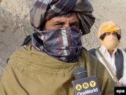 """""""Талибан"""" қозғалысының баспасөз хатшысы Забиулла Муджахид."""