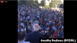Митинг партии Мусават. 18 сентября 2016