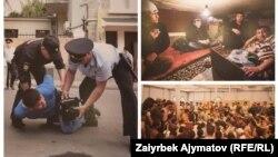 Мигранттарга арналган фотокөргөзмөдөгү сүрөттөр