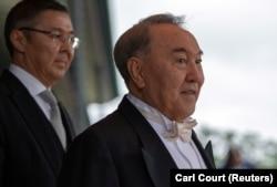 Бұрынғы президент Нұрсұлтан Назарбаев жапон императорының сарайында. Токио, 22 қазан 2019 жыл.