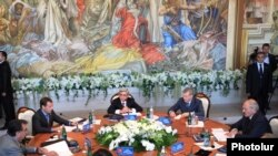 Армения - сессия Совета коллективной безопасности Организации Договора (ОДКБ) на высшем уровне в Ереване, 20 августа 2010