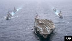 Военные корабли США. Иллюстративное фото.