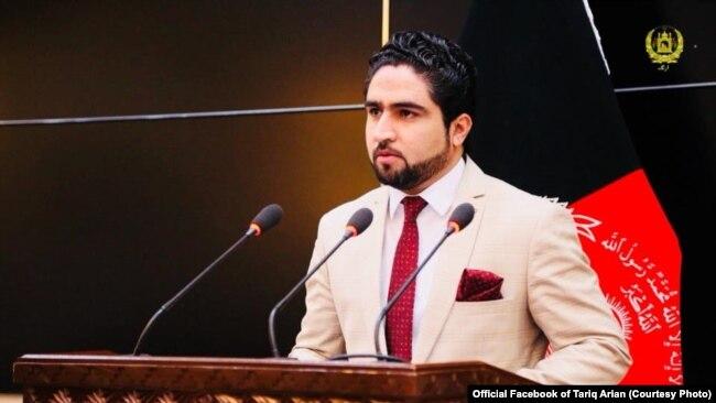 طارق آرین سخنگوی وزارت امور داخله افغانستان