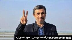 محمود احمدی نژاد رئیس جمهوری سابق ایران