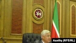 Татарстан парламенты рәисе Фәрит Мөхәммәтшин