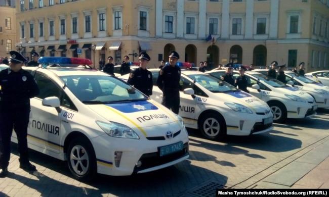 Патрульна поліція склала присягу в Одесі, 25 серпня 2015 року