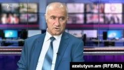 Экономист Ашот Маркосян в студии Азатутюн ТВ